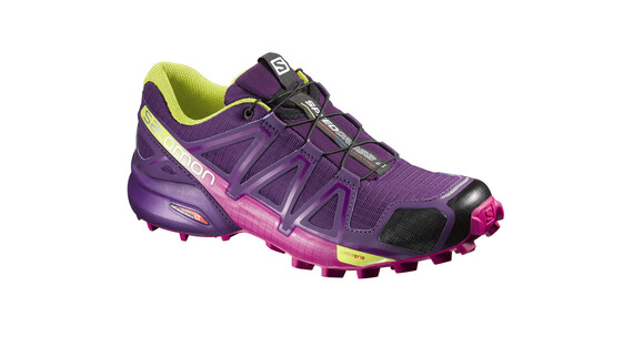 Salomon W's Speedcross 4 Shoes Cosmic Purple/Deep Dalhia/Gecko Gre